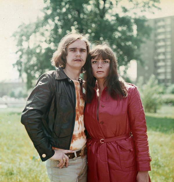 Wojciech Korda, Ada Rusowicz, Niebiesko-Czarni. Lata 70.