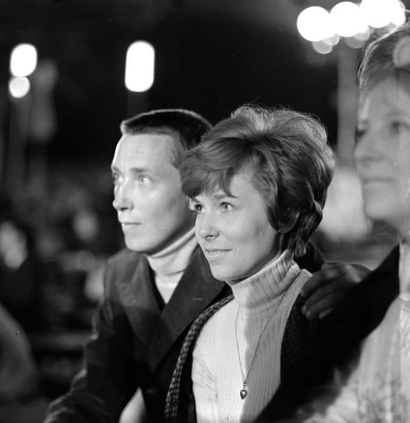 Wojciech Młynarski, Adrianna Godlewska-Młynarska, Adrianna Godlewska, czerwiec 1968, festiwal w Opolu