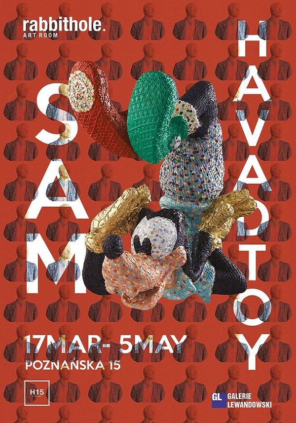 wystawa Sama Havadtoya w Rabbithole Art Room w Warszawie