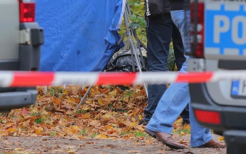 Zdjęcia z miejsca, w którym znaleziono poćwiartowane zwłoki Pauliny D. w Łodzi