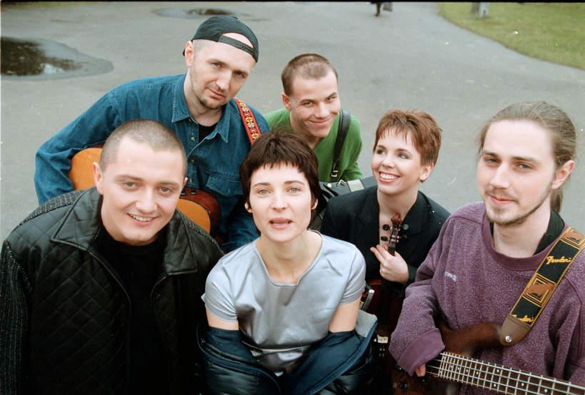 Zespół Sxiteen, Renata Dąbkowska, Olga Pruszkowska, Jarosław Pruszkowski, 27.02.1998 rok