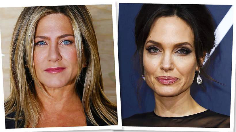 Złote Globy 2018: Jennifer Aniston i Angelina Jolie