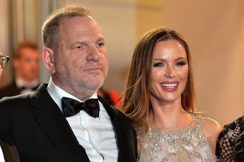 Żona Harveya Weinsteina, Georgina Champan