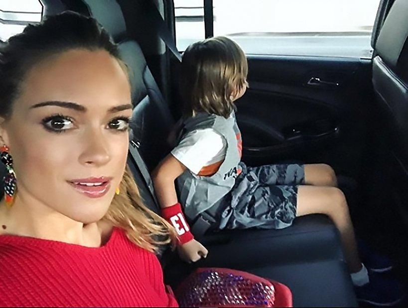 Alicja Bachleda-Curuś z synem / Instagram