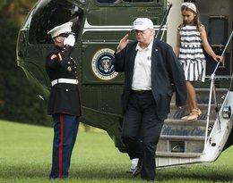 Donald Trump z wnuczką