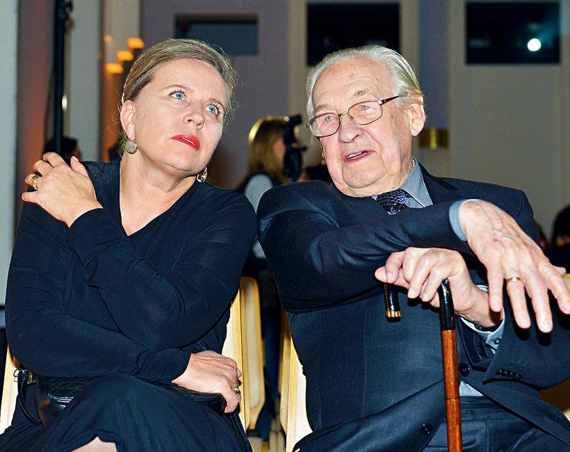 Krystyna Janda i Andrzej Wajda