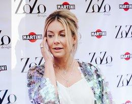 Małgorzata Rozenek-Majdan na pokazie biżuterii ZoZo Design