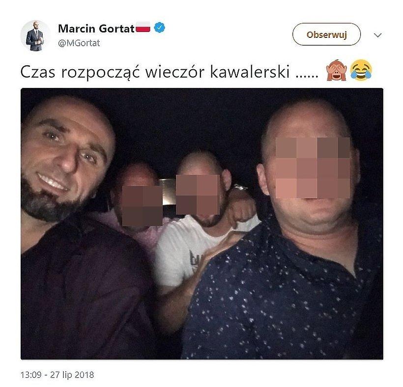 Marcin Gortat, wieczór kawalerski, screen