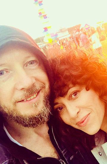 Natalia Kukulska z mężem na Openerze