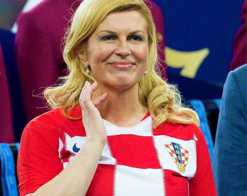 Pani Prezydent Chorwacji