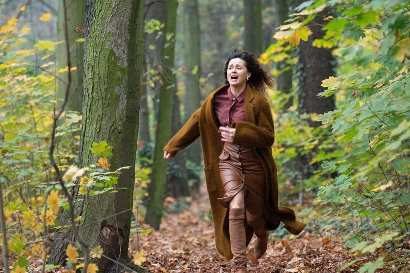 Agnieszka Grochowska wywiad W głębi lasu Netflix