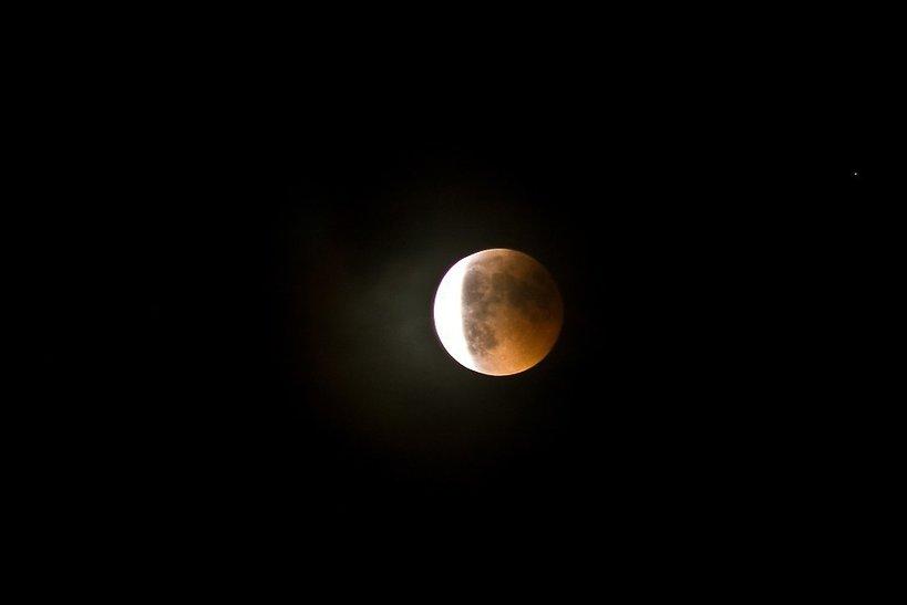 Zaćmienie Księżyca, częściowe