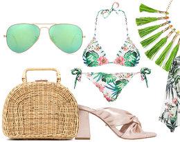 Look na plażę - tropik