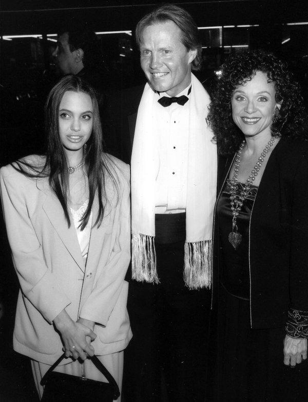 Angelina Jolie z ojcem