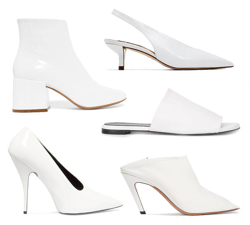 Białe buty na wiosnę 2017