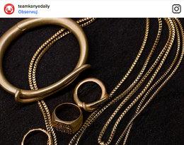 Biżuteria Yeezy projektu Kanye Westa noszona przez Kim Kardashian