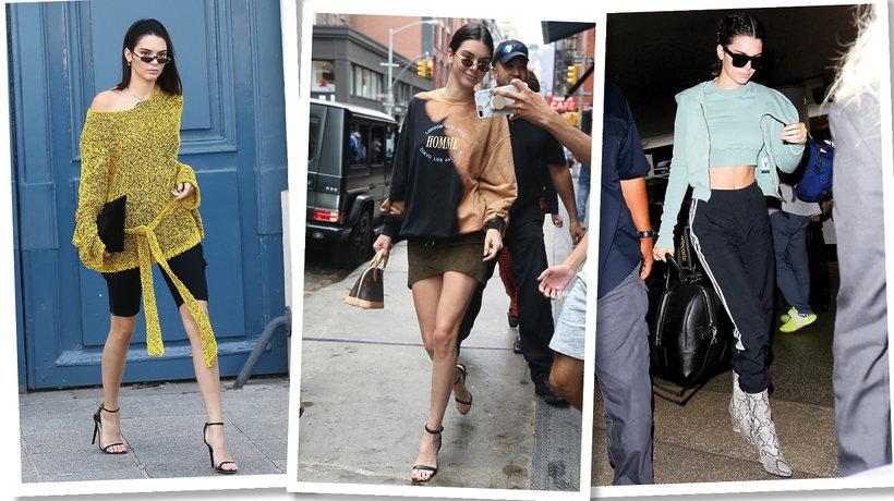 Codzienny styl Kendall Jenner