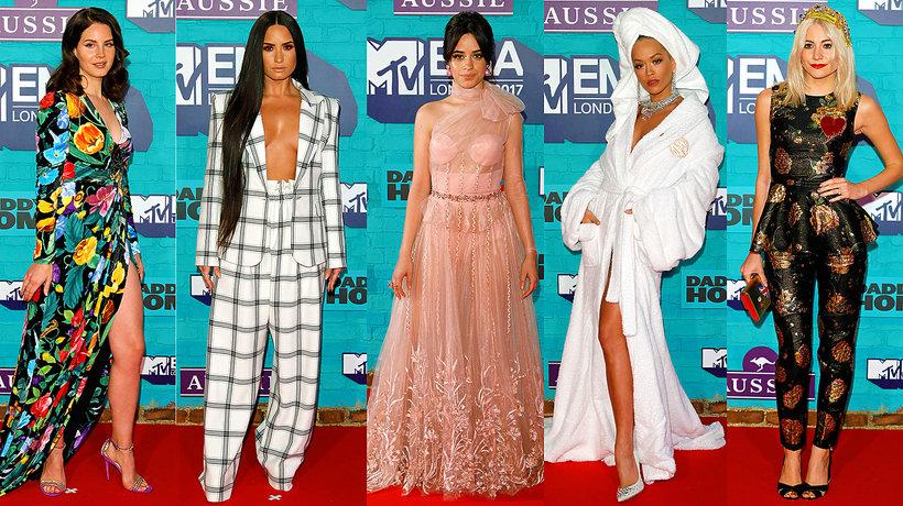 Gwiazdy na gali MTV EMA 2017