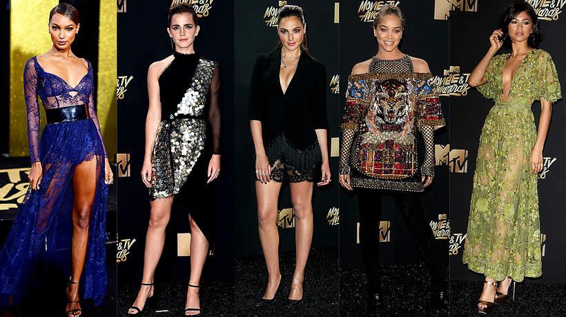 Gwiazdy na gali MTV Movie & TV Awards