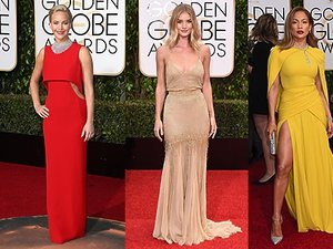 Jennifer Lawrence, Rosie Huntington-Whiteley, Jennifer Lopez, Cate Blanchett, Kate Bosworth na czerwonym dywanie
