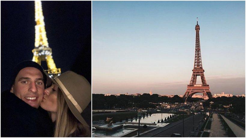 Jessica Ziółek i Arkadiusz Milik udowadniają, że Paryż to miasto zakochanych!