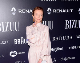 Katarzyna Zielińska w pastelowej stylizacji