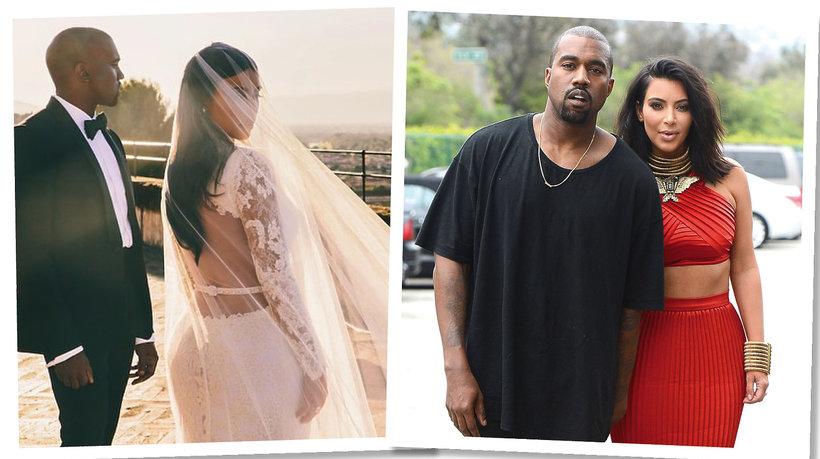 Kim Kardashian West i Kanye West