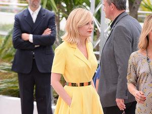 Kirsten Dunst w żółtej kreacji na festiwalu w Cannes