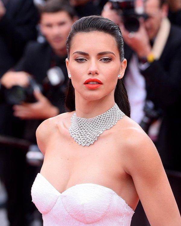 Adriana Lima w Cannes
