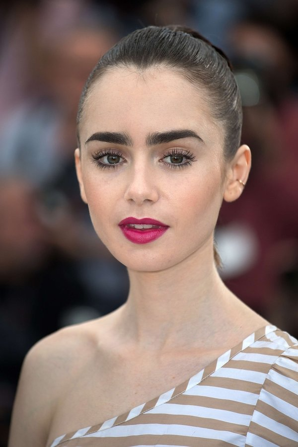 Lily Collins w Cannes