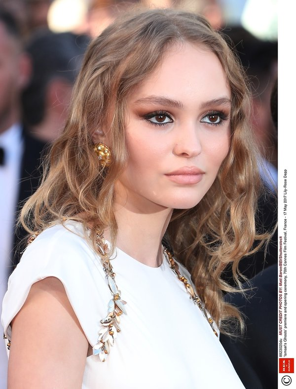 Lily Rose Depp w Cannes