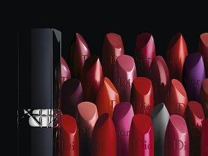 Wszystkie kolory pomadek Rouge Dior