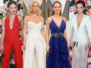 Małgorzata Kożuchowska, Lady Gaga, Brie Larson, Paulina Sykut, Joanna Horodyńska w ładnych stylizacjach