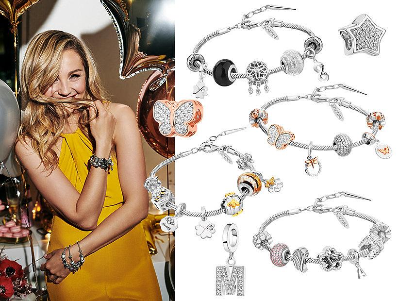 Małgorzata Socha w najnowszej kampanii APART Beads Collection