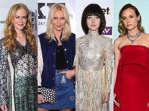 Nicole Kidman, Joanna Horodyńska, Monika Brodka, Diane Kruger, Malwina Wędzikowska w udanych stylizacjach