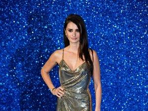 Penelope Cruz w srebrnej sukni do ziemi