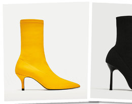 Sock boots Zara
