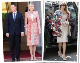Styl Agaty Dudy i Melanii Trump