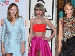 Sylwia Gliwa, Taylor Swift, Cate Blanchett, Selena Gomez, Agnieszka Szulim w pięknych stylizacjach