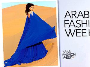 Sylwia Romaniuk pokazała kolekcję na Arab Fashion Week w Dubaju WIDEO