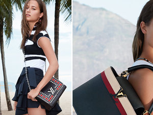 Alicia Vikander w kampanii Louis Vuitton, torebki i akcesoria Cruise 2017