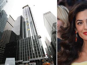 Apartament Amal i George'a Clooney w Nowym Jorku