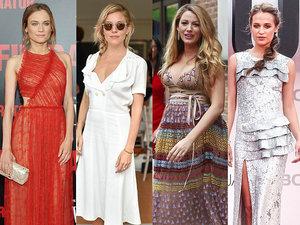 Diane Kruger, Sienna Miller, Blake Lively, Alicia Vikander, Kate Middleton