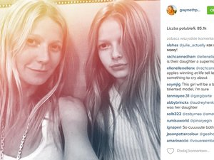 Gwyneth Paltrow i córka Apple Martin