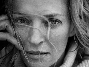 Kalendarz Pirelli 2017 - gwiazdy bez retuszu: Uma Thurman