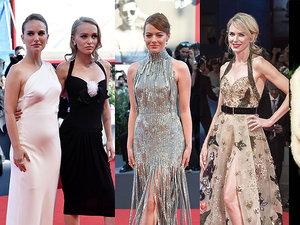 Natalie Portman, Lily Rose Depp, Emma Stone, Naomi Watts, Eva Herzigova w eleganckich kreacjach