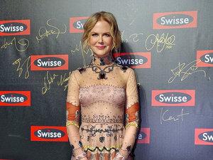 Nicole Kidman w ozdobnej koronkowej sukni