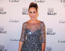 Sarah Jessica Parker w srebrnej sukience