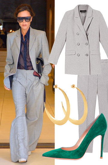 Victoria Beckham styl garnitur