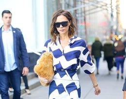Victoria Beckham w białych butach